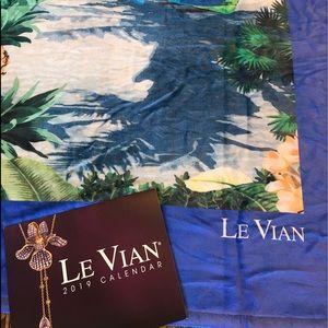 Authentic LeVian Blanket & 2019 Calendar